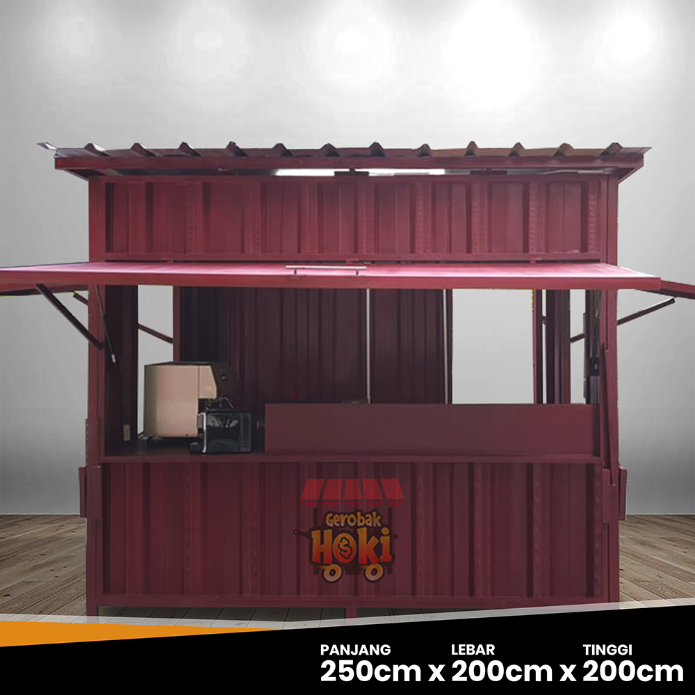 Booth Container Unik